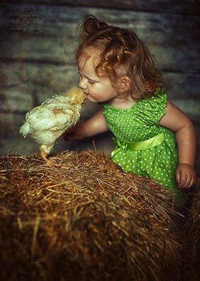enfant et poule