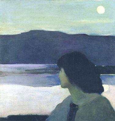 Arthur Beecher Carles - Silence, 1908